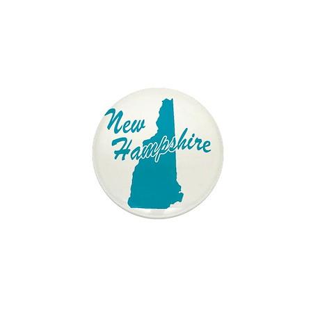 State New Hampshire Mini Button