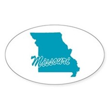 State Missouri Oval Decal