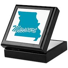 State Missouri Keepsake Box