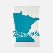 State Minnesota Rectangle Magnet