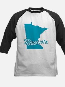 State Minnesota Kids Baseball Jersey