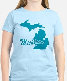 State Michigan T-Shirt