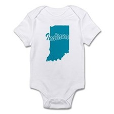 State Indiana Infant Bodysuit