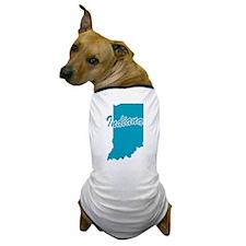 State Indiana Dog T-Shirt