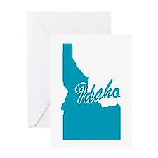 State of Idaho Greeting Card