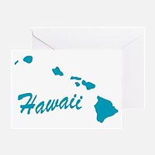 State Hawaii Greeting Card