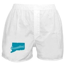 State Connecticut Boxer Shorts