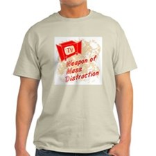 Weapon of Mass Distraction Ash Grey T-Shirt