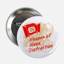 """Weapon of Mass Distraction 2.25"""" Button (10 pack)"""