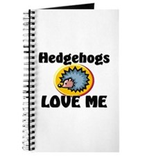Hedgehogs Love Me Journal