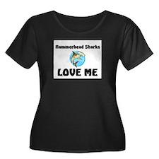 Hammerhead Sharks Love Me T