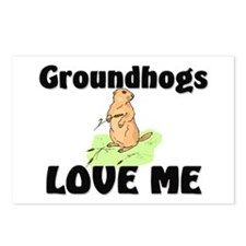 Groundhogs Love Me Postcards (Package of 8)