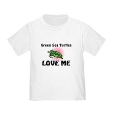Green Sea Turtles Love Me T