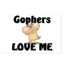 Gophers Love Me Postcards (Package of 8)