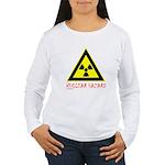 NUCLEAR HAZARD Women's Long Sleeve T-Shirt