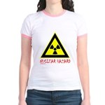 NUCLEAR HAZARD Jr. Ringer T-Shirt