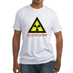 NUCLEAR HAZARD Fitted T-Shirt