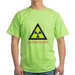 NUCLEAR HAZARD Green T-Shirt