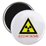 NUCLEAR HAZARD Magnet