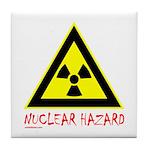 NUCLEAR HAZARD Tile Coaster