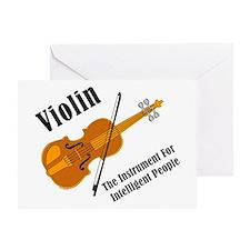 Intelligent Violin Greeting Card