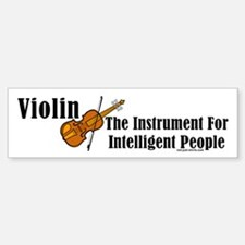 Intelligent Violin Bumper Car Car Sticker
