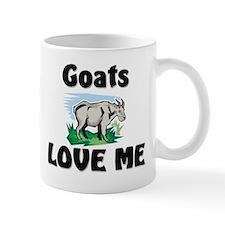 Goats Love Me Mug