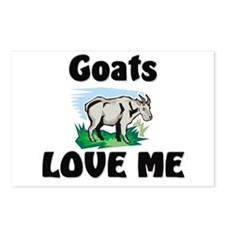 Goats Love Me Postcards (Package of 8)