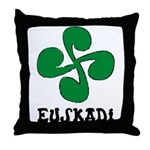 Euskadi Throw Pillow