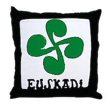 Euskadi Throw Pillow