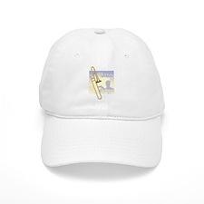 Jazz Trombone Baseball Cap