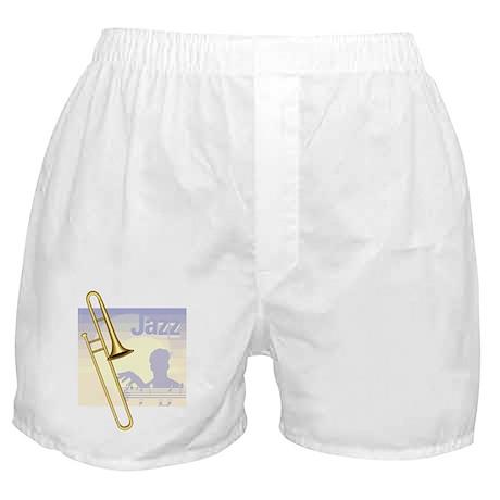 Jazz Trombone Boxer Shorts