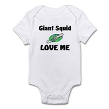 Giant Squid Love Me Infant Bodysuit