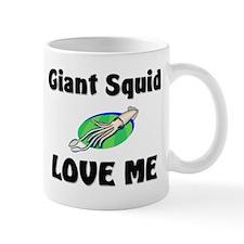 Giant Squid Love Me Mug