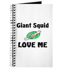 Giant Squid Love Me Journal