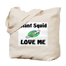 Giant Squid Love Me Tote Bag