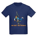 Mountain bike Kids T-shirts (Dark)
