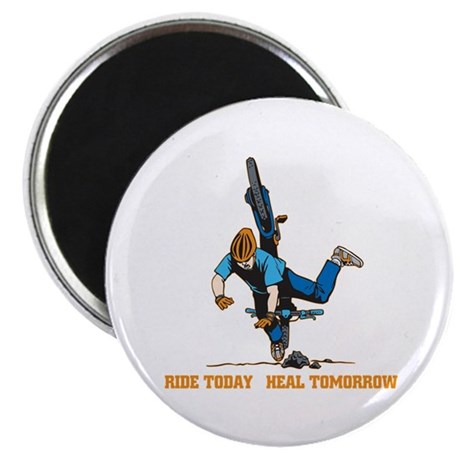 "Ride Today Biking 2.25"" Magnet (10 pack)"