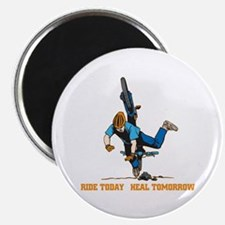 "Ride Today Biking 2.25"" Magnet (100 pack)"