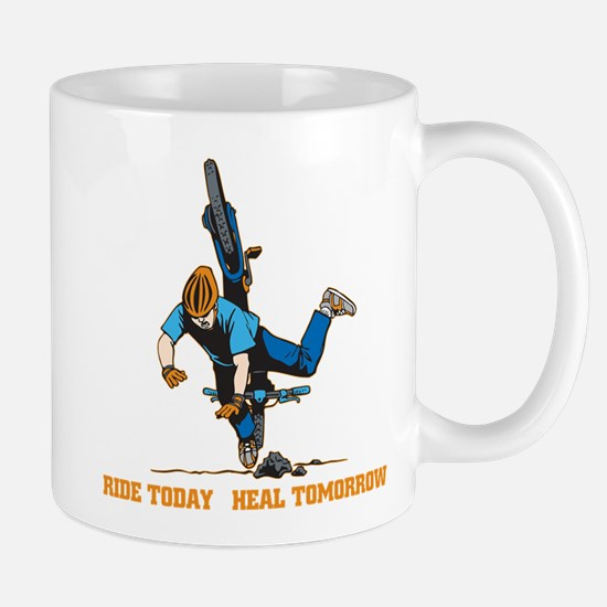 Ride Today Biking Mug
