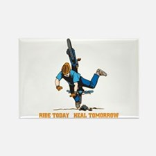 Ride Today Biking Rectangle Magnet (10 pack)