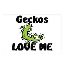 Geckos Love Me Postcards (Package of 8)