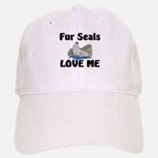 Fur Seals Love Me Baseball Baseball Cap