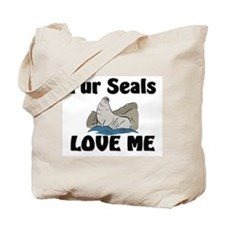 Fur Seals Love Me Tote Bag