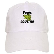 Frogs Love Me Baseball Cap