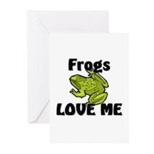 Frogs Love Me Greeting Cards (Pk of 10)