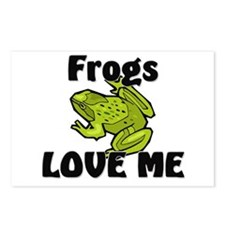 Frogs Love Me Postcards (Package of 8)