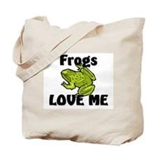 Frogs Love Me Tote Bag