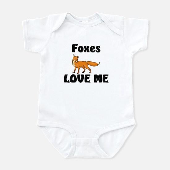 Foxes Love Me Infant Bodysuit