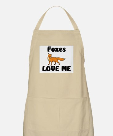 Foxes Love Me BBQ Apron